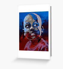 Haiti (hope for the children) Greeting Card