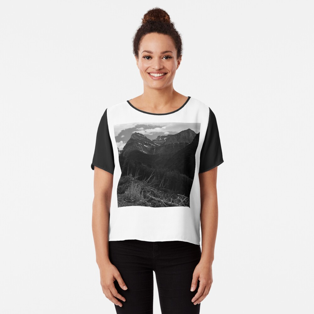Glacier National Park   Chiffon Top