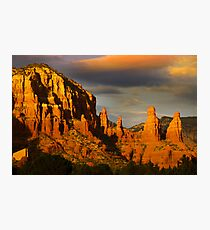 Red rock hills in Sedona Photographic Print