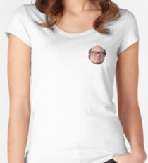 Danny Devito Fitted Scoop T-Shirt
