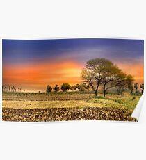 Indian Landscape Poster