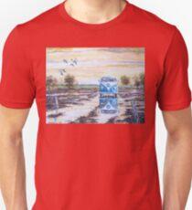 Volkswagen camper / After the rain. Unisex T-Shirt