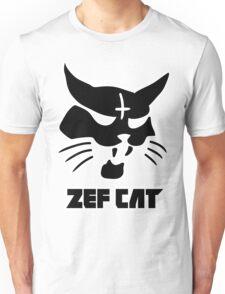 Zefcat (black) Unisex T-Shirt