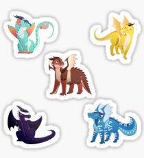 Dragonets of Destiny set 2 Sticker