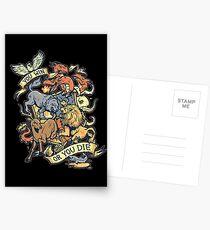 GAME OF THRONES Postkarten