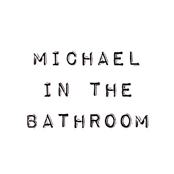 Be More Chill: Michale in the bathroom by broadway-island
