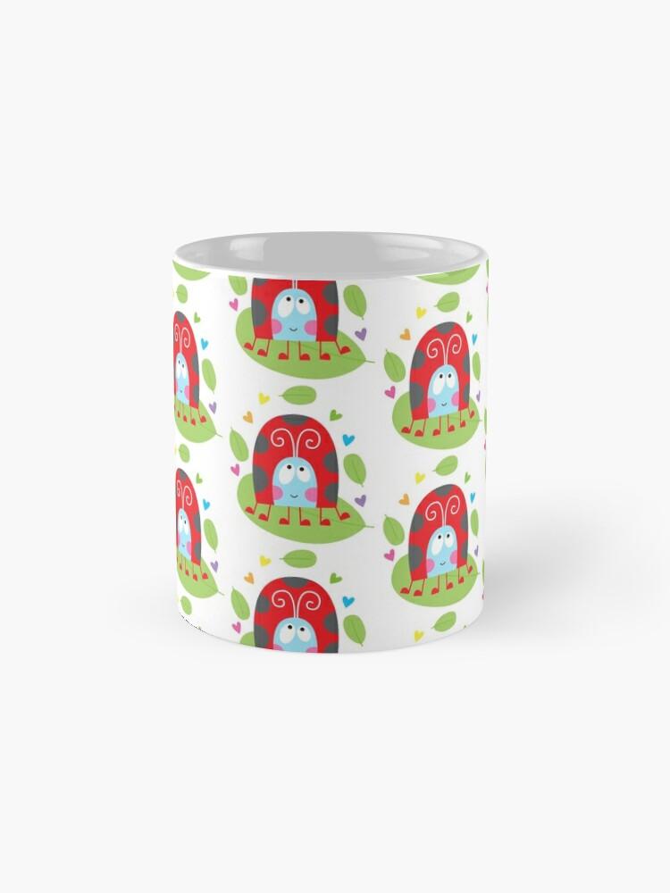 Alternate view of Happy ladybug Mugs