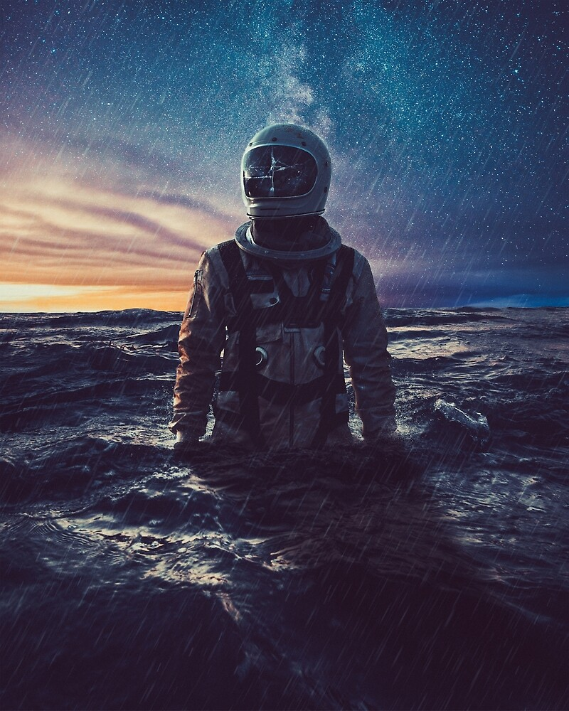 Stranded by sublimenation