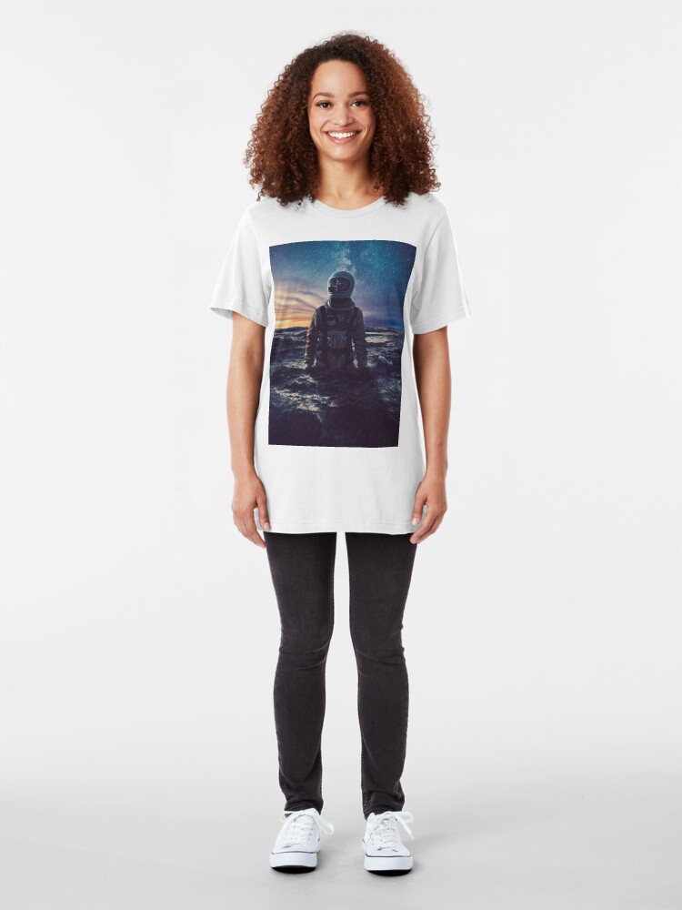 Alternate view of Stranded Slim Fit T-Shirt
