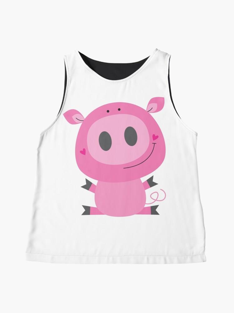 Alternate view of Cutie pig Sleeveless Top