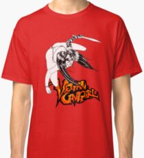 Vegan Cave Girl Strikes Classic T-Shirt