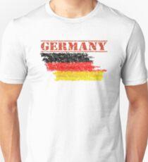 Deutsche Flagge T-shirts Unisex T-Shirt
