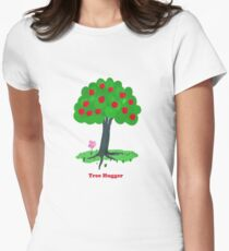 Tree Hugger Women's Fitted T-Shirt