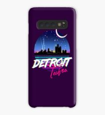 DETROIT TECHNO - Retro 80s Design Case/Skin for Samsung Galaxy
