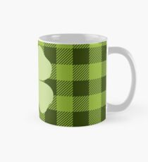 Buffalo Plaid: Four Leaf Clover Mug