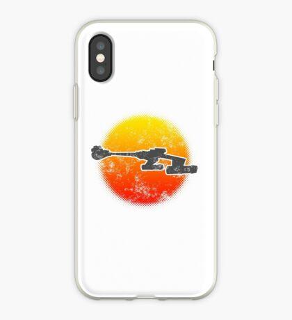 Star Empire Battle Cruiser D7 Flyby - Light iPhone Case
