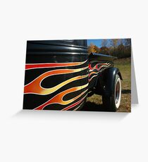 Hell on Wheels Greeting Card