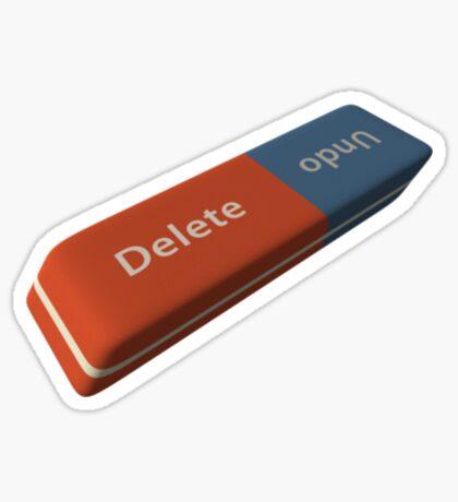 Delete or undo? Sticker