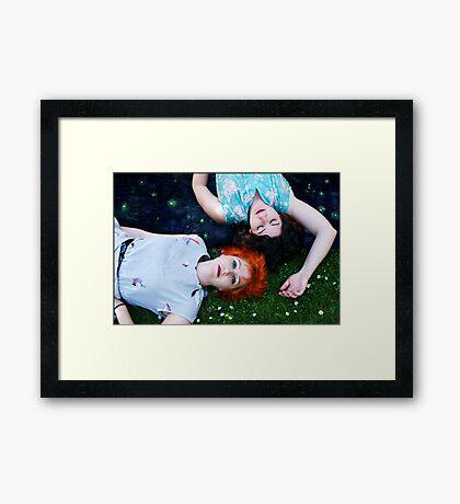 she allowed her to dream of van gogh Framed Print