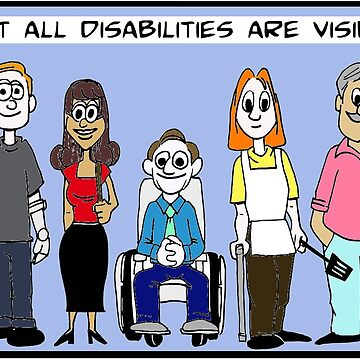 Not all disabilities are visible by LeeWilson