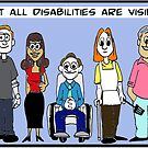 Not all disabilities are visible by Egress Group Pty Ltd
