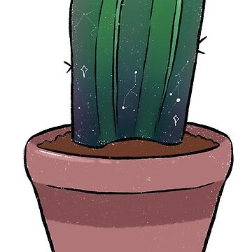 Cactus pot plant  by ellietography