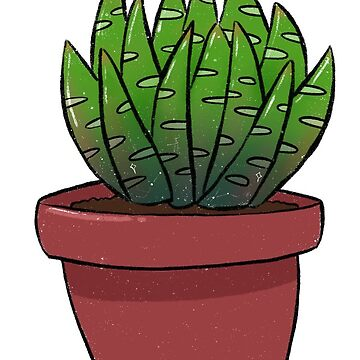 Aloe pot plant  by ellietography