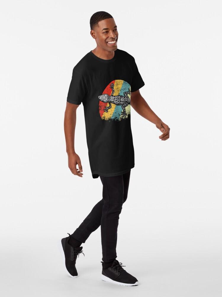 Vista alternativa de Camiseta larga Gecko animal