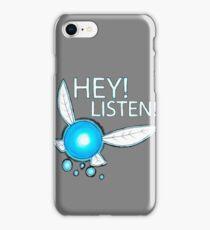 Navi!  HEY! LISTEN! iPhone Case/Skin