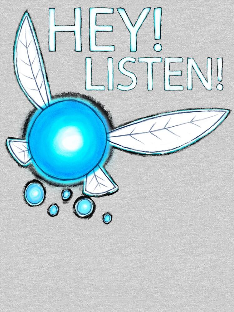 Navi!  HEY! LISTEN! by bitemefox