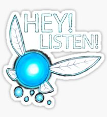 Navi!  HEY! LISTEN! Sticker