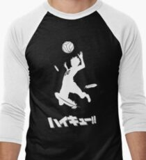 Haikyuu!! Hinata spike Men's Baseball ¾ T-Shirt