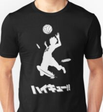 Haikyuu !! Hinata Spike Slim Fit T-Shirt