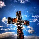 Rusty Cross by Bob Larson