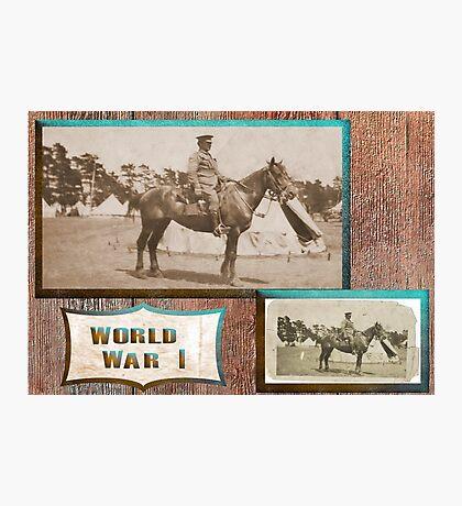 Light Horseman  WW1 Photographic Print