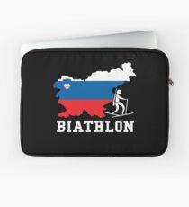Biathlon Slovenia Laptop Sleeve
