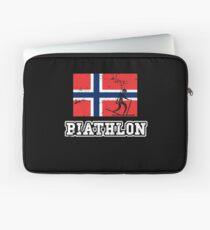 Biathlon Norway Laptop Sleeve