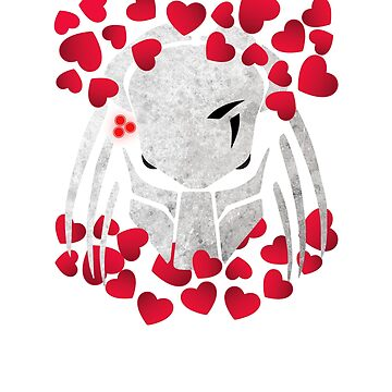 Official Predator Valentine's Day T-Shirt For Movies Lovers by SamDesigner