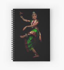 Bharathanatyam Dance -130 Spiral Notebook