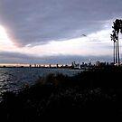 Evening Magic Across the Bay from St Kilda by Virginia McGowan