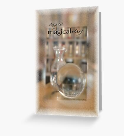 Magical Day Card 01 © Vicki Ferrari Greeting Card