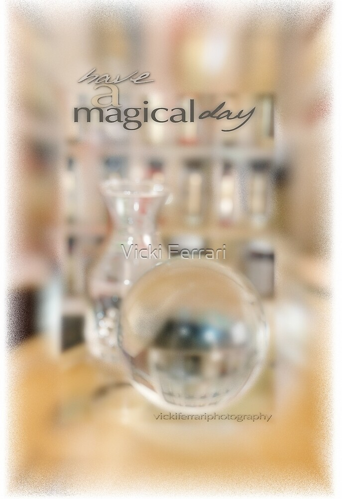 Magical Day Card 02 © VFPCards by Vicki Ferrari