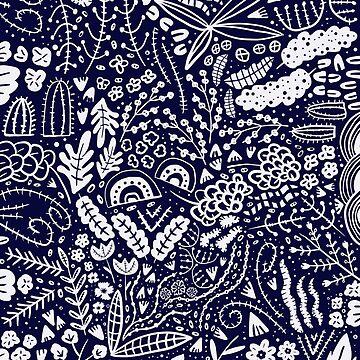 Blue Vase by nadiairianto