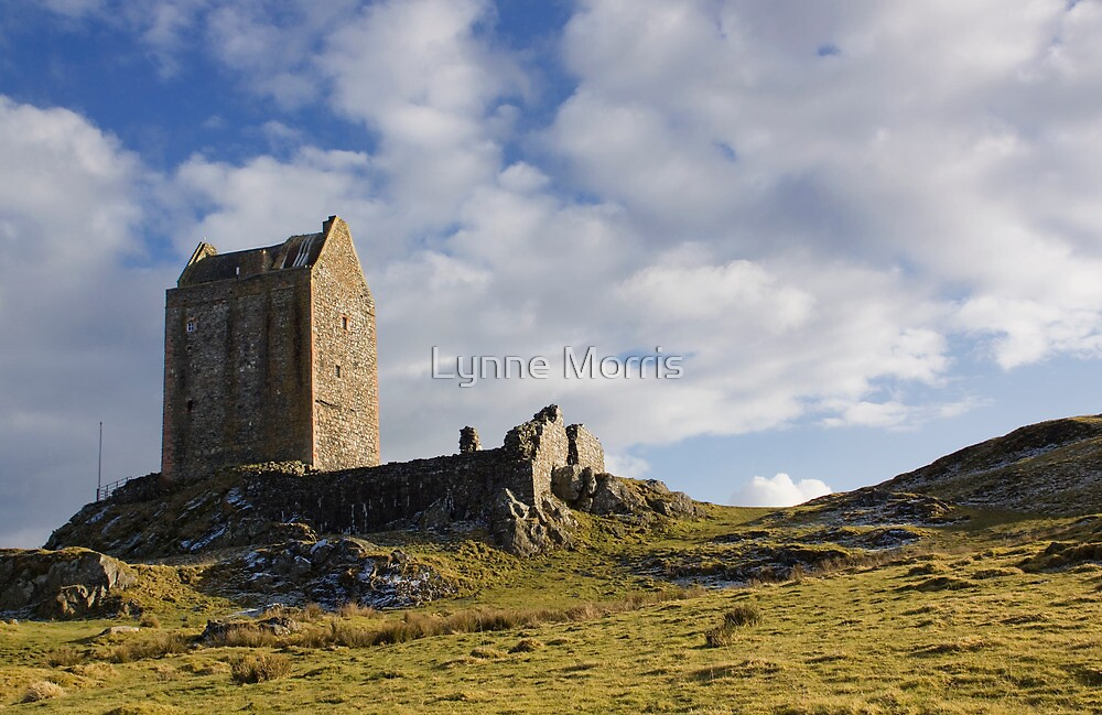 Smailholm Tower by Lynne Morris