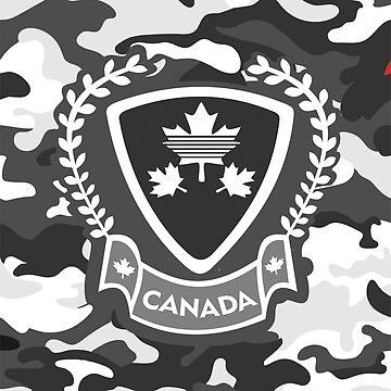 Canada - Camouflage Grey by GR8DZINE