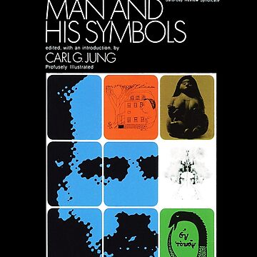 Man and His Symbols C.G. Jung Book Cover by buythebook86
