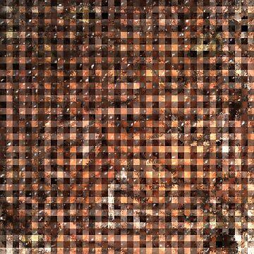 Gingham of Life Gemstone Tiles by MarkUK97