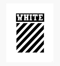 White by Off-White Photographic Print