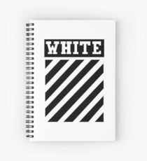 White by Off-White Spiral Notebook
