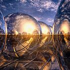 Metallic Reflections of 3D by Phil Perkins